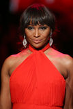 Cynthia Bailey walks the runway at the Go Red For Women Red Dress Collection 2015 Stock Photo