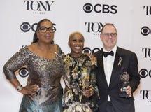 Cynthia Erivo Wins at 70th Tonys Royalty Free Stock Photo