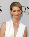 Cynthia Nixon. Actress Cynthia Nixon arrives on the Red Carpet at the Radio City Music Hall at the 60th Annual Tony Awards in New York City; June 11, 2006 Royalty Free Stock Images