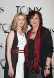 Cynthia Nixon und Lynne Meadow lizenzfreies stockfoto