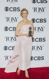 Cynthia Nixon Wins Tony Award Royalty-vrije Stock Fotografie