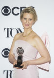 Cynthia Nixon Wins Tony Award Royalty-vrije Stock Foto