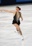 Cynthia PHANEUF (CAN) short program Royalty Free Stock Images