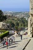 Cypern Bellapais abbotskloster Royaltyfria Bilder