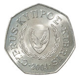 Cypern centmynt Fotografering för Bildbyråer