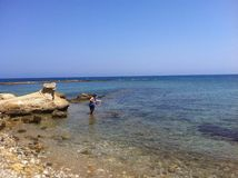 Cypern hav Royaltyfria Foton