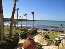 Cypern hotell Royaltyfri Bild