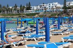 Cypern semester Arkivfoton