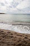 Cypern strand Royaltyfri Foto