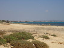 Cypern strandferie Royaltyfria Foton