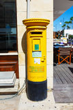 Cypr filaru Pocztowy pudełko zdjęcie royalty free
