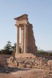 Cypr Grecja wygłupy ruina Zdjęcie Stock