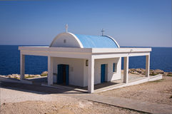 Cypr kaplica Agii Anargiri w Agia Napa Obrazy Royalty Free