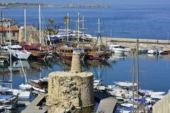 Cypr, Kyrenia obraz stock