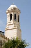 Cypr ortodoxo de los lemesos de la catedral de la torre de Bell Foto de archivo libre de regalías
