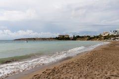 Cypr plaża Zdjęcia Stock