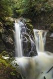 Cypress Falls. Cypress Provincial Park, Vancouver, BC, Canada Royalty Free Stock Image