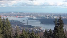 Cypress viewpoint Vancouver 4K UHD stock video