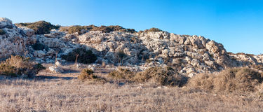 Cyprian wild rocky landscape Stock Image
