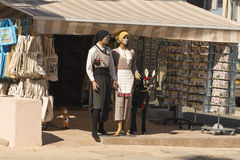 Cypriot national costumes Stock Photography