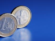 Cypriotic欧元 免版税图库摄影