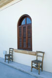 Cyprus. Detail of a traditional house in old Nicosia  - Cyprus Royalty Free Stock Image