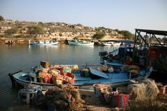 Cyprus. Nice little Harbor in the South Stock Image
