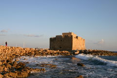 Cyprus. Pafos Fort Royalty Free Stock Image