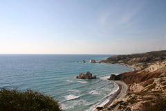Cyprus. Rock of Aphrodite Royalty Free Stock Photos