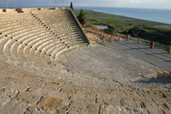 Cyprus. Kourion Stadium Royalty Free Stock Images