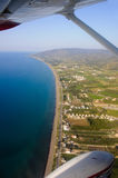 Cyprus aerial photography Royalty Free Stock Image