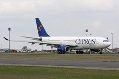 A330 Cyprus Airways Fotografia Stock Libera da Diritti