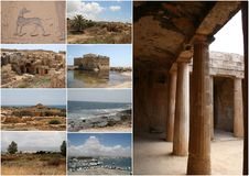 Cyprus. Ancient Paphos Stock Images