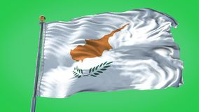 Cyprus animated flag pack in 3D and green screen