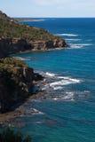 Cyprus beach Cliifs Stock Photography