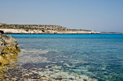 Cyprus beach Royalty Free Stock Images
