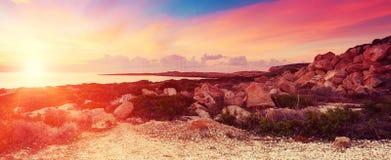 Cyprus beautiful sunrise Royalty Free Stock Image