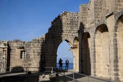 CYPRUS BELLAPAIS royalty free stock images