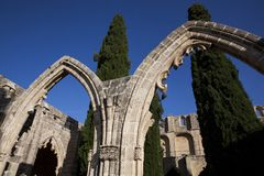 CYPRUS BELLAPAIS royalty free stock photography