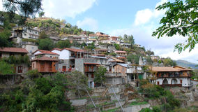cyprus bergby Arkivbilder