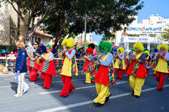 Cyprus carnival, full of colors and fun Royalty Free Stock Photography