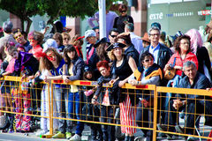 Cyprus carnival, full of colors and fun Royalty Free Stock Image