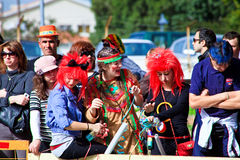 Cyprus carnival, full of colors and fun Royalty Free Stock Images