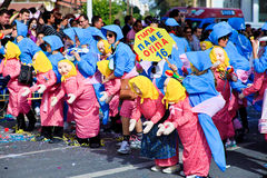 Cyprus carnival, full of colors and fun Royalty Free Stock Photo