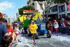 Cyprus Carnival Parade in Limassol Royalty Free Stock Images