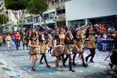 Cyprus Carnival Parade in Limassol Stock Images