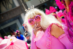 Cyprus Carnival Parade in Limassol Royalty Free Stock Photo
