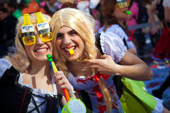 Cyprus Carnival Parade in Limassol Royalty Free Stock Photos