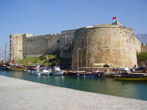 Cyprus Castle Stock Photography