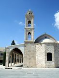 Cyprus church and bell tower Royalty Free Stock Image